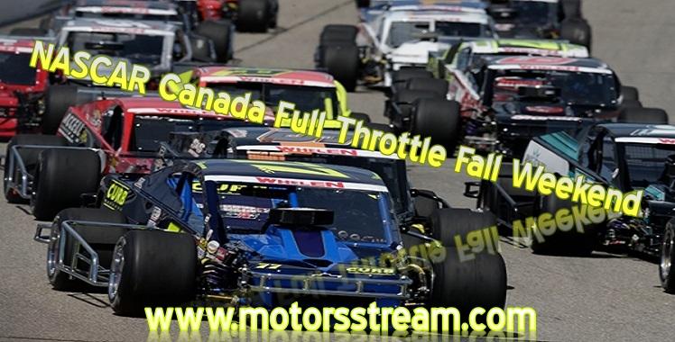 live-nascar-full-throttle-fall-weekend