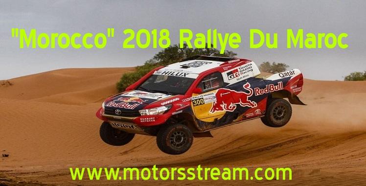 Live 2018 Rallye Du Maroc