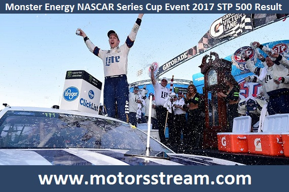2017 Monster Energy NASCAR STP 500 Result
