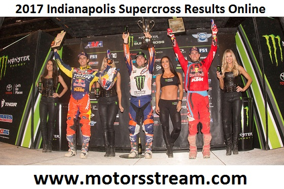 2017 Indianapolis Supercross Results