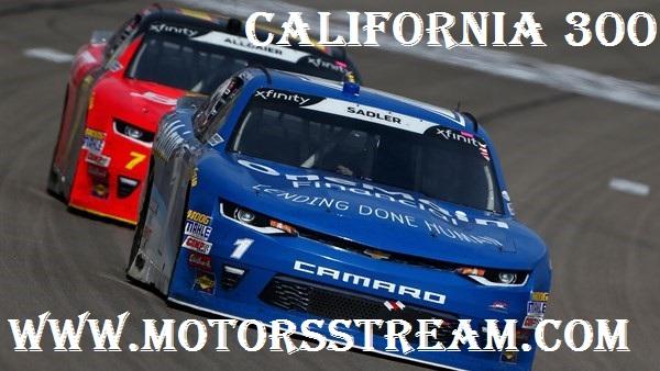 2018 California 300 NASCAR Online/