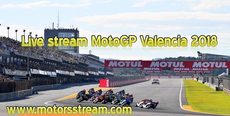 MotoGP Valencia 2018 Live streaming