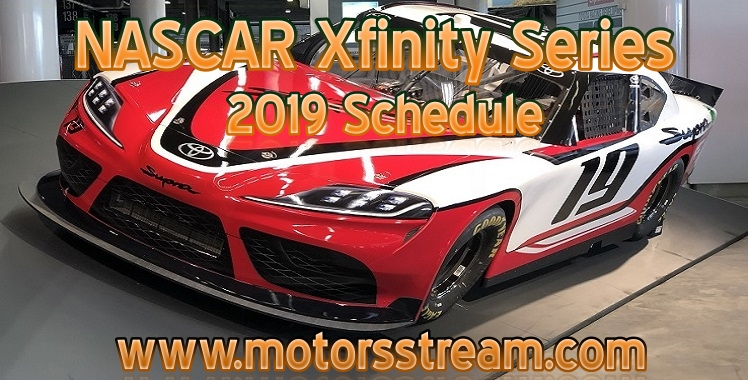 2019-nascar-xfinity-series-schedule