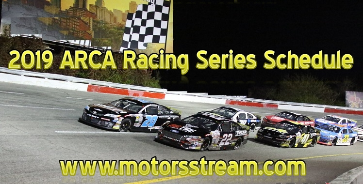 2019-arca-racing-series-schedule