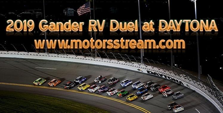 2019 Gander RV Duel at DAYTONA Live Stream
