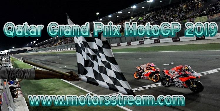 Qatar MotoGP 2019 Live stream