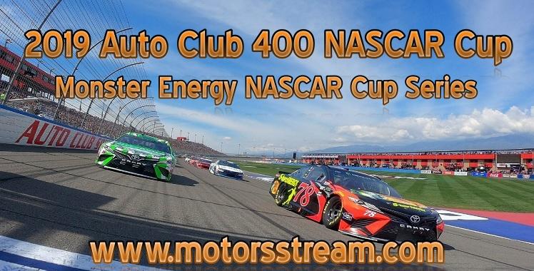 2019 Auto Club 400 NASCAR Cup Live Stream
