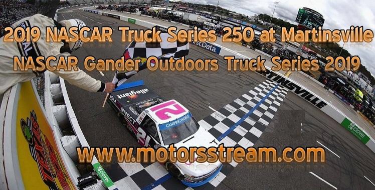 NASCAR Truck Series Martinsville 2019 Live Stream