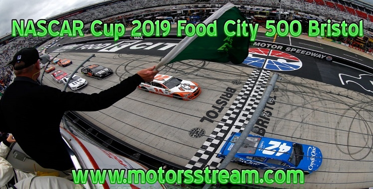 NASCAR Cup 2019 Food City 500 at Bristol Live Stream