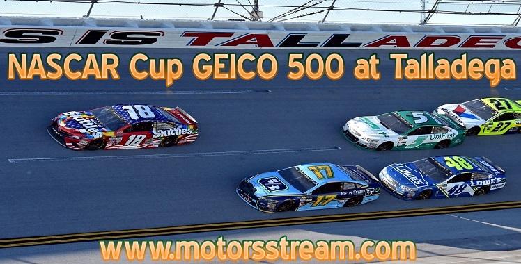 NASCAR Cup GEICO 500 at Talladega 2019 Live Stream