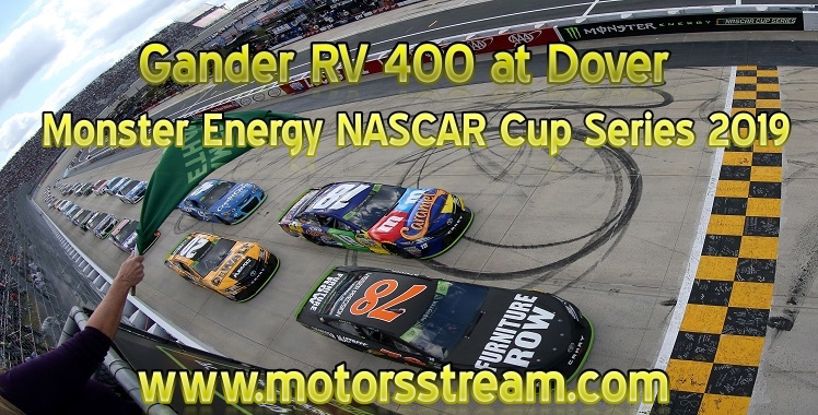 NASCAR Cup 2019 Gander RV 400 at Dover Live Stream
