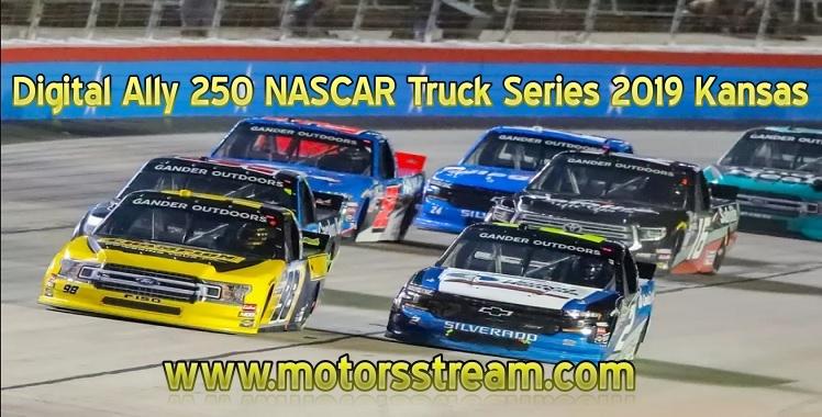 Digital Ally 250 NASCAR Truck Series Kansas Live Stream