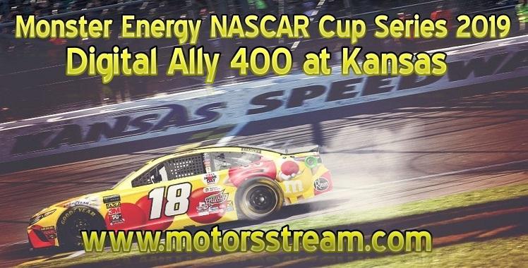 Digital Ally 400 NASCAR Cup 2019 Kansas Live Stream