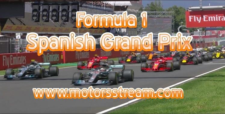 Formula 1 Spanish Grand Prix Live Stream