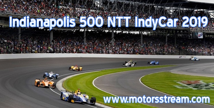 Indianapolis 500 IndyCar Live Stream