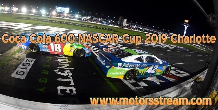 Coca Cola 600 Live Stream NASCAR Cup
