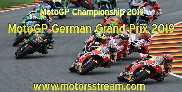 MotoGP German Grand Prix Live Stream