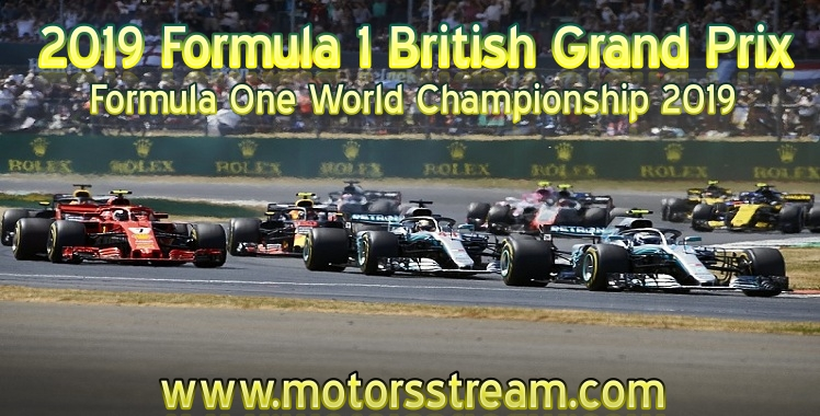 Formula 1 British Grand Prix Live Stream