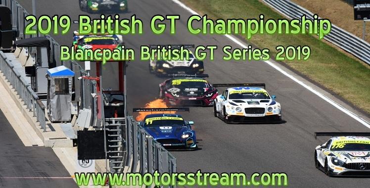 British GT Championship Live Stream