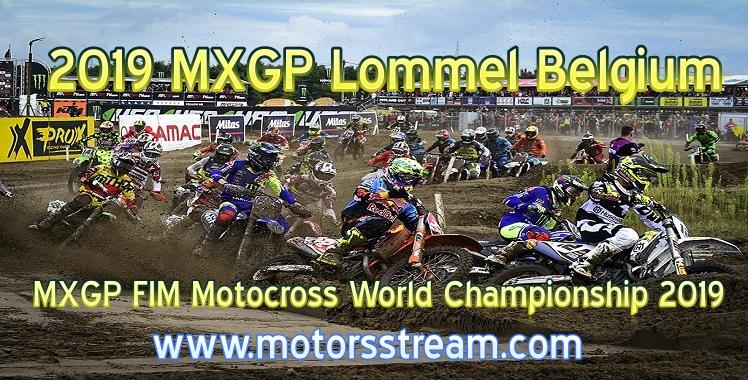 MXGP Lommel Live Stream