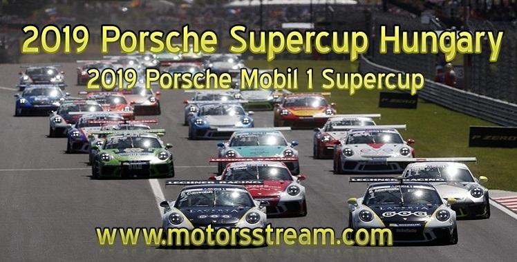 Porsche Supercup Hungary Live Stream