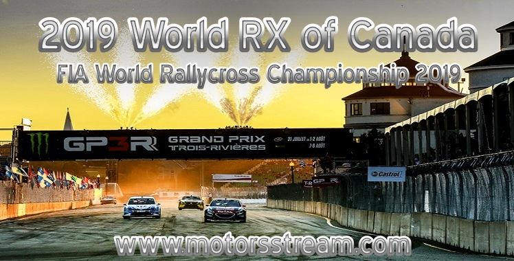World RX of Canada Live stream