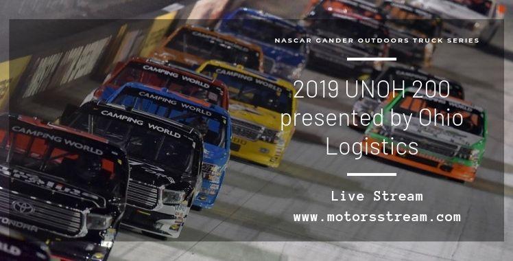 UNOH 200 Live Stream NASCAR Truck Series