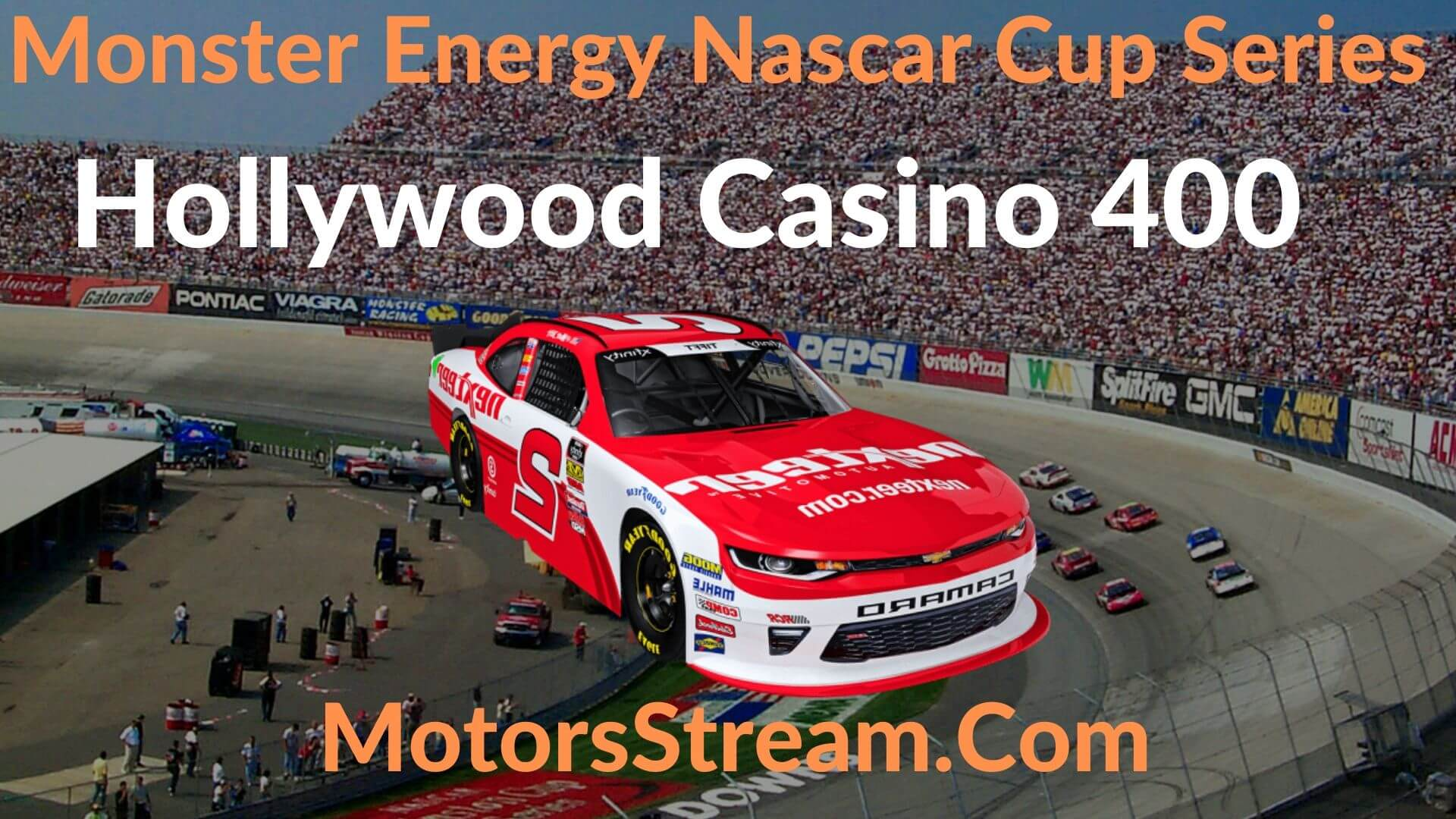 Live NASCAR Cup Hollywood Casino 400