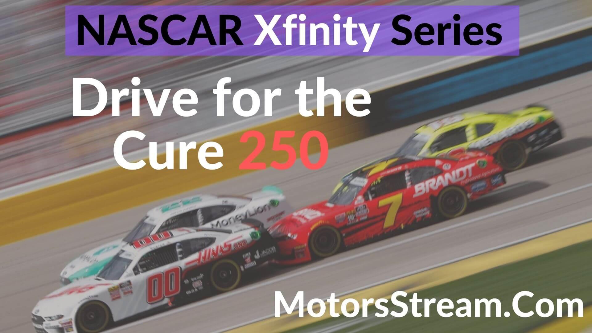 Live streaming NASCAR Xfinity Charlotte