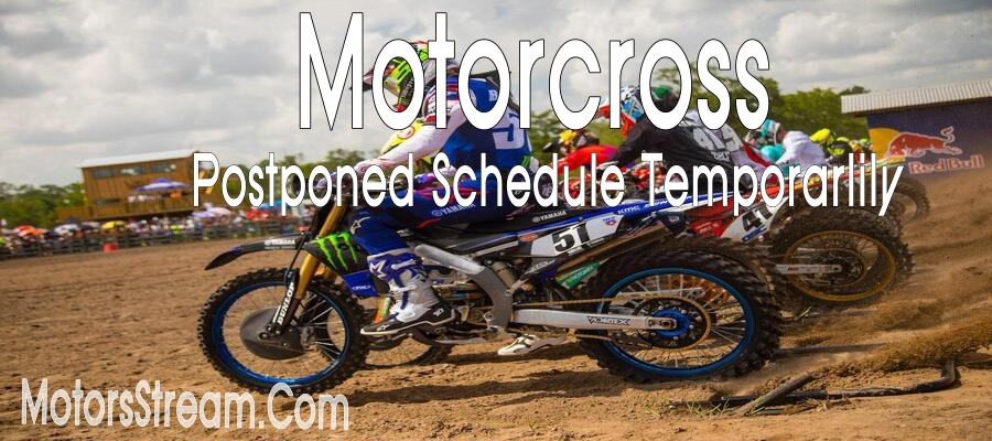 Motorcross will start soon after temporarily postponed by Organization