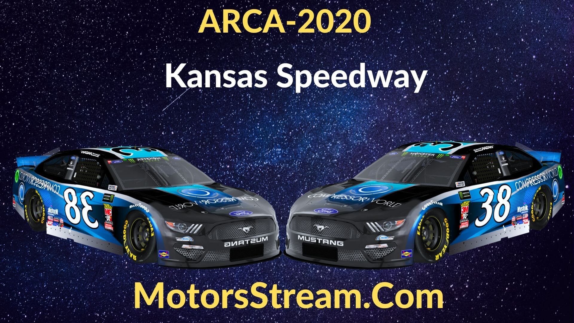 Live Kansas ARCA 150 Streaming