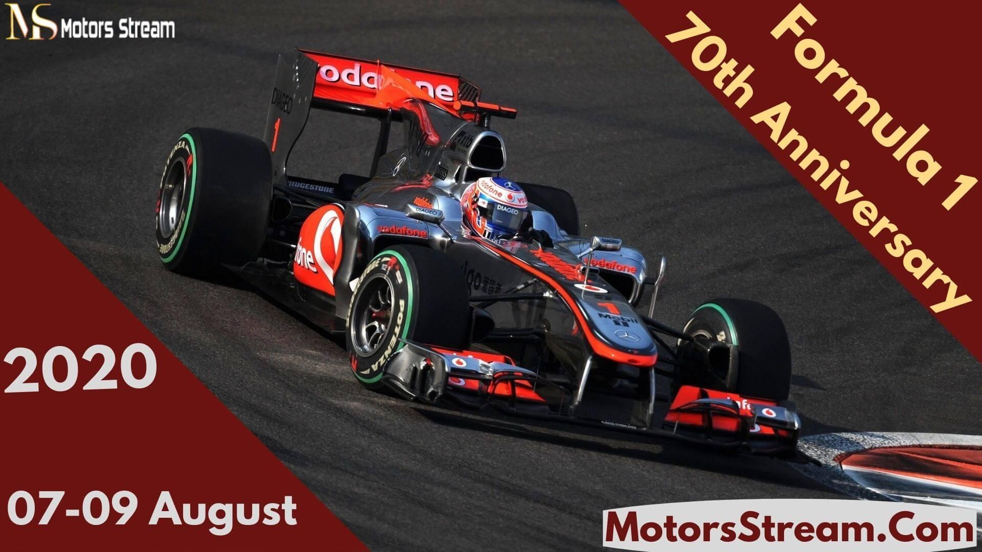 70th Anniversary GP Silverstone Live Stream