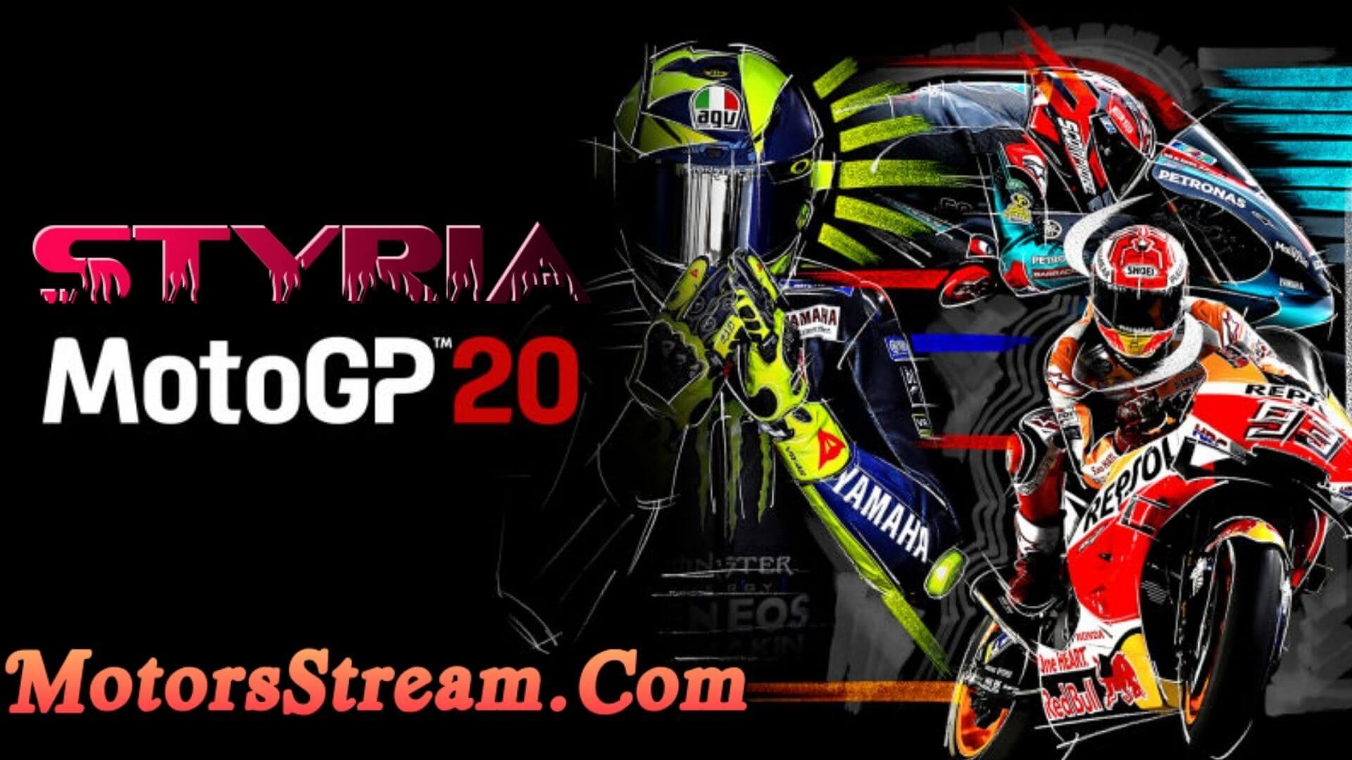 Styrian Grand Prix of MotoGP Live Stream