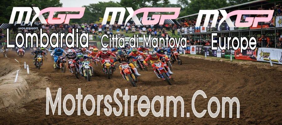 MXGP at Lombardia Citta di Mantova and Europe Live Stream 2020