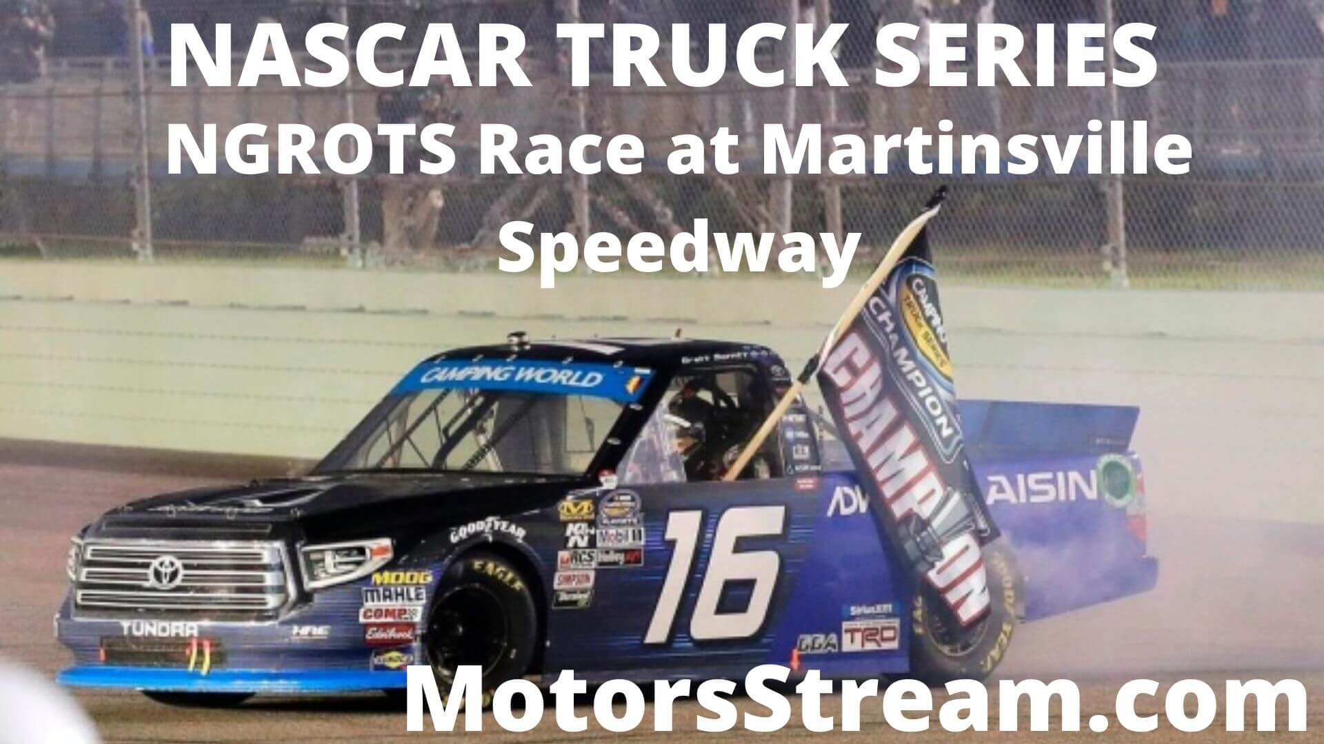 NASCAR Hall of Fame 200 Truck Series Live Stream