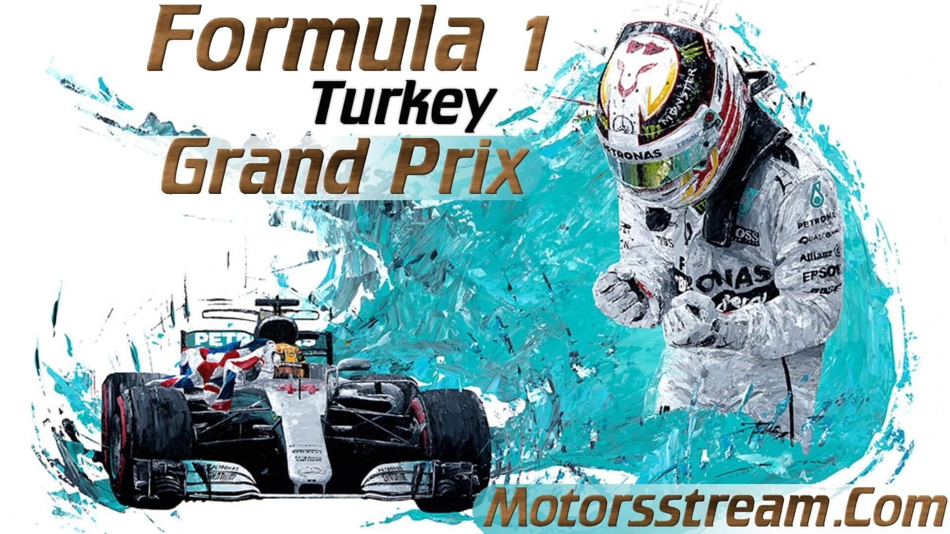 Formula 1 Turkey GP Live Stream