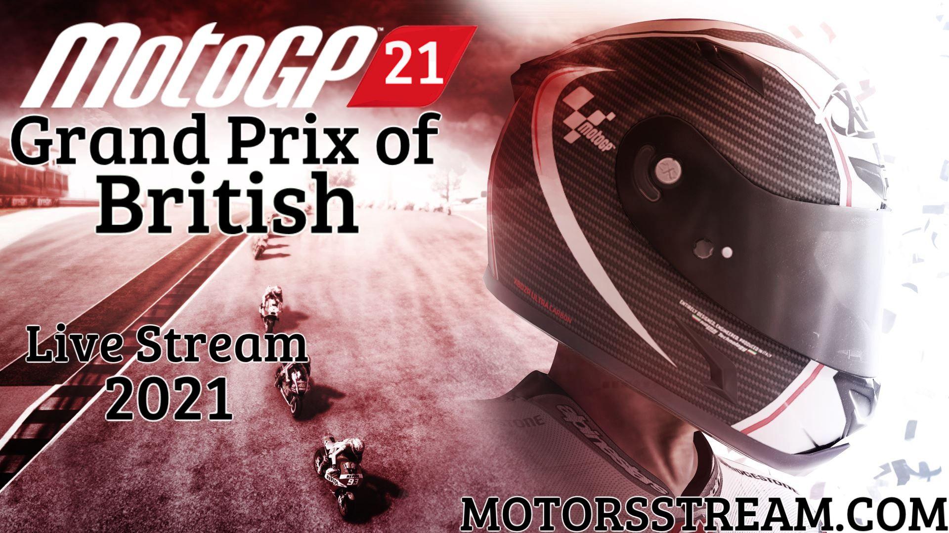 MotoGP British Live Stream 2021 | Race