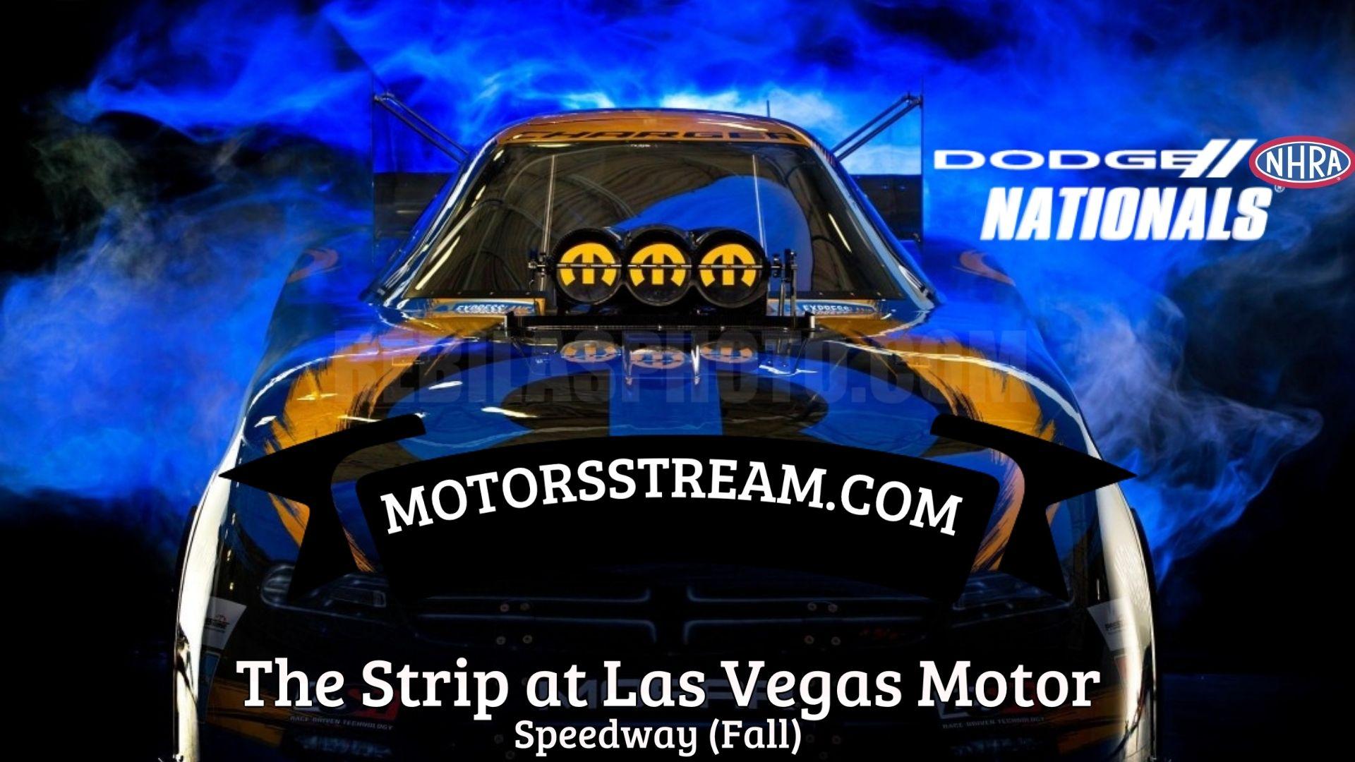 Dodge NHRA Nationals 2021 Live Stream