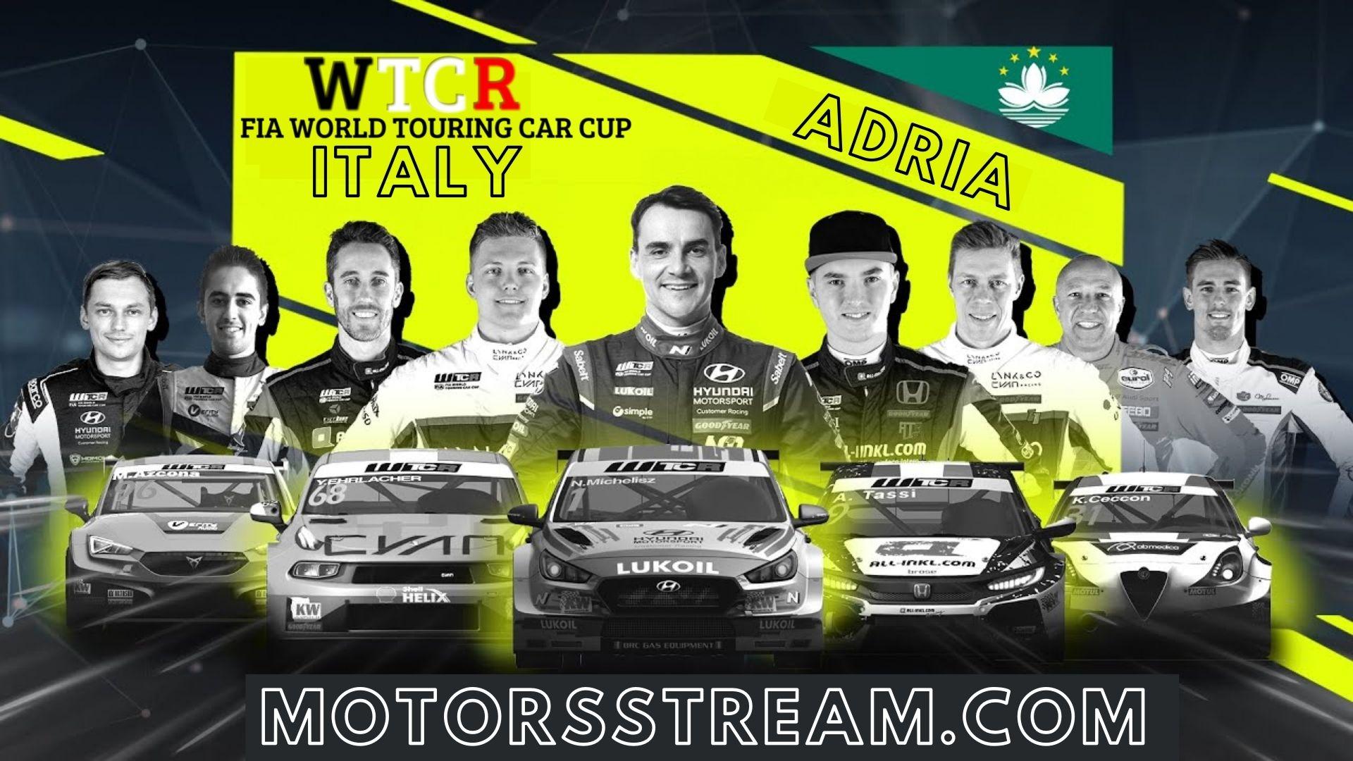 WTCR Italy Live Stream 2021 | Round 7