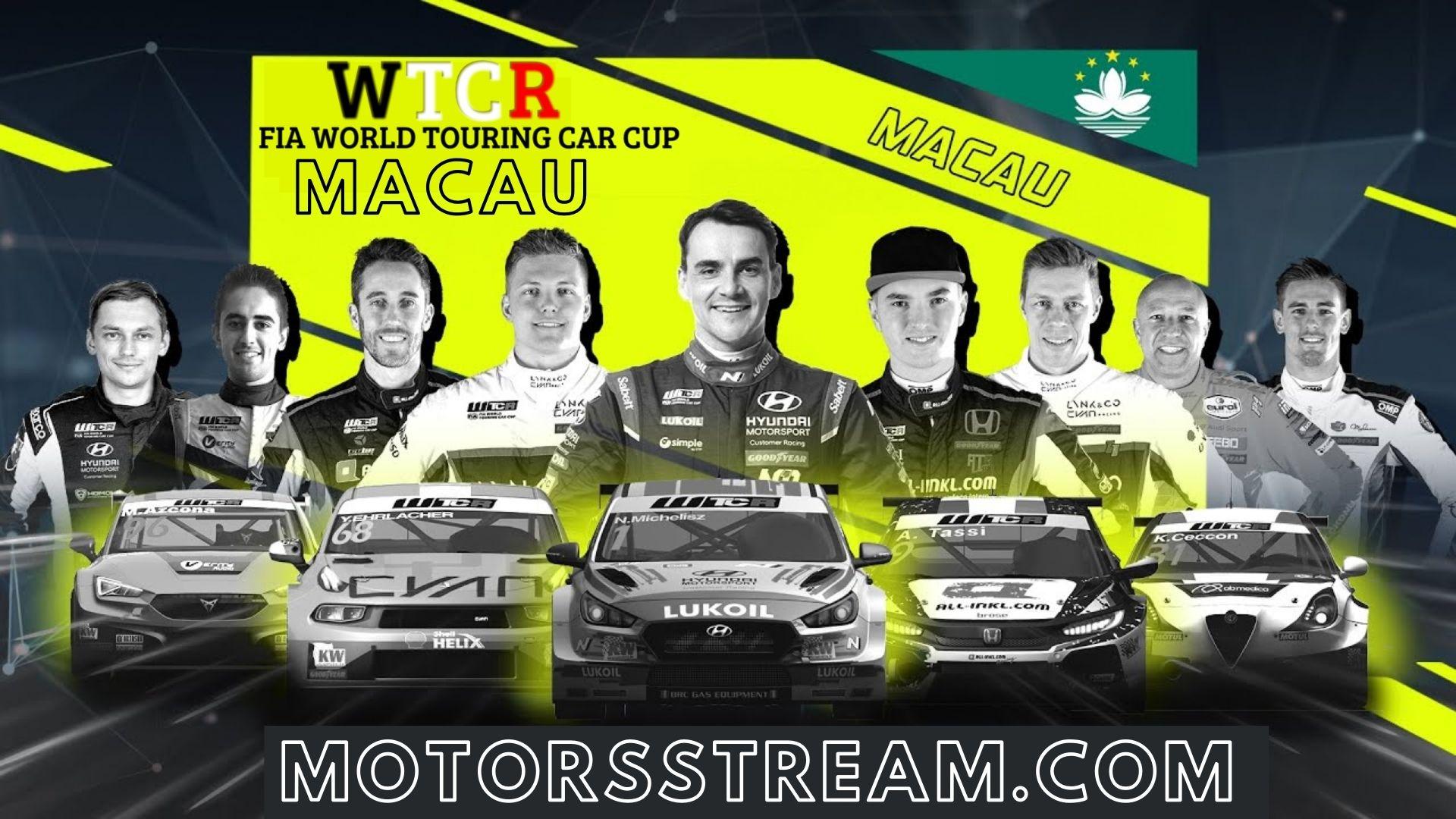 WTCR Macau Live Stream 2021 | Round 15