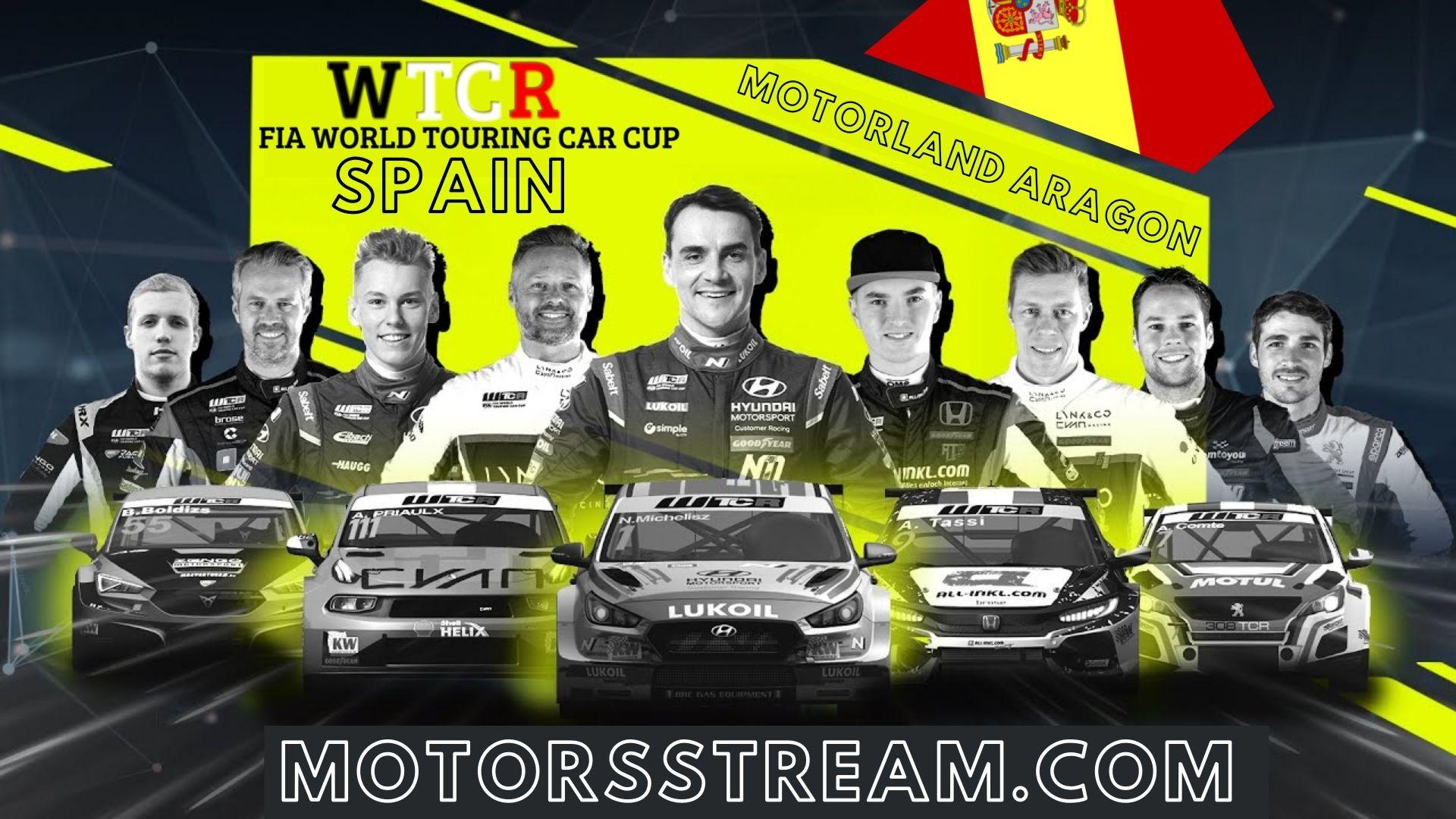 WTCR Spain Live Stream 2021 | Round 5