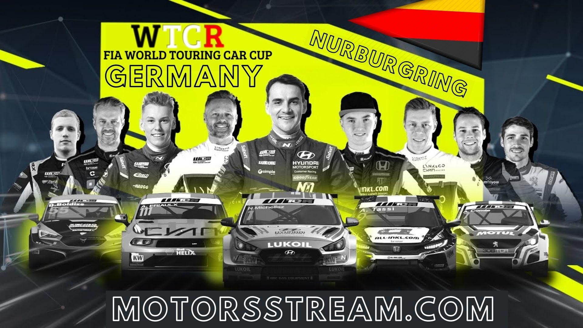 WTCR Germany Live Stream 2021 | Round 1