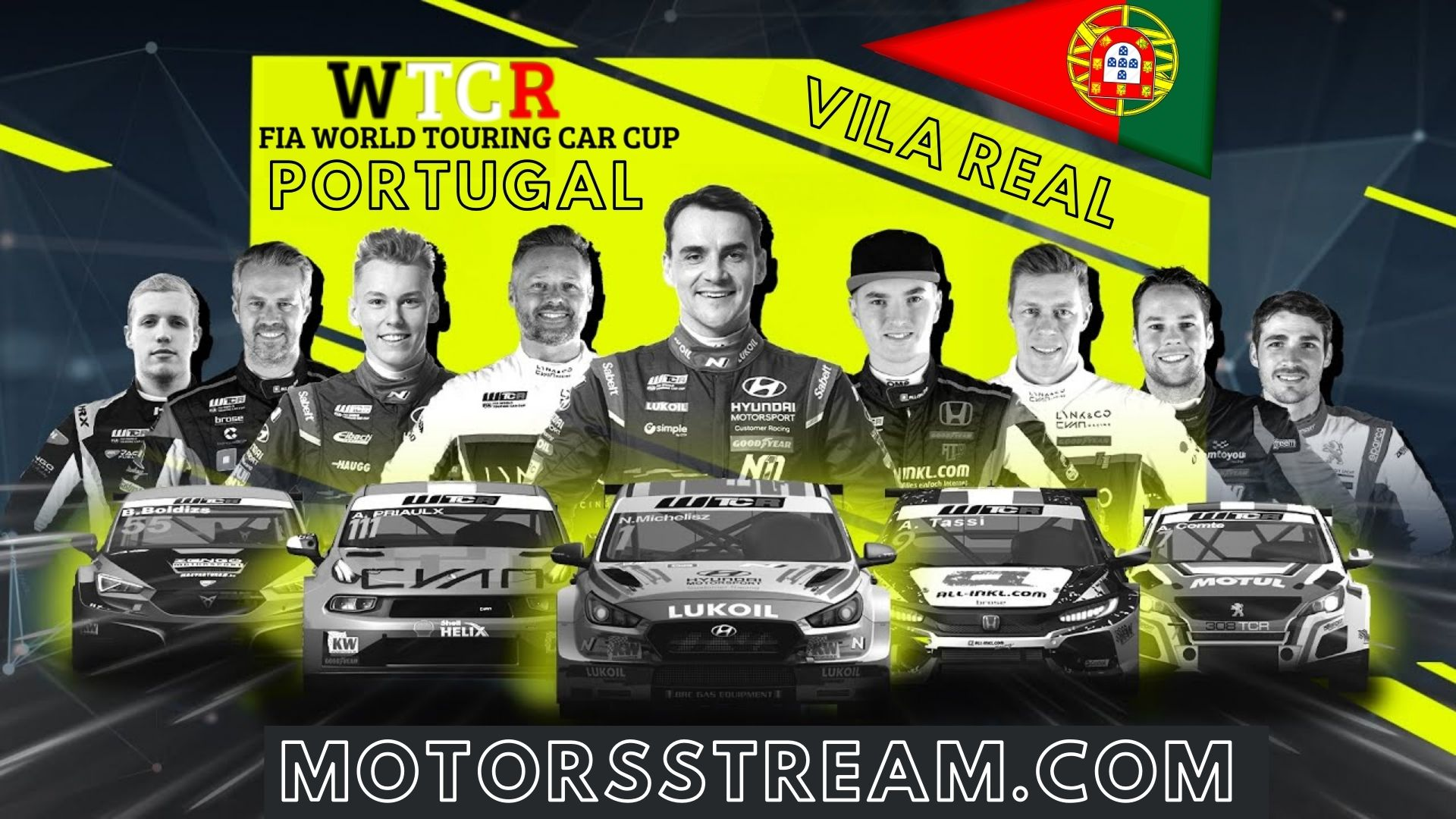 WTCR Portugal Live Stream 2021 | Round 3