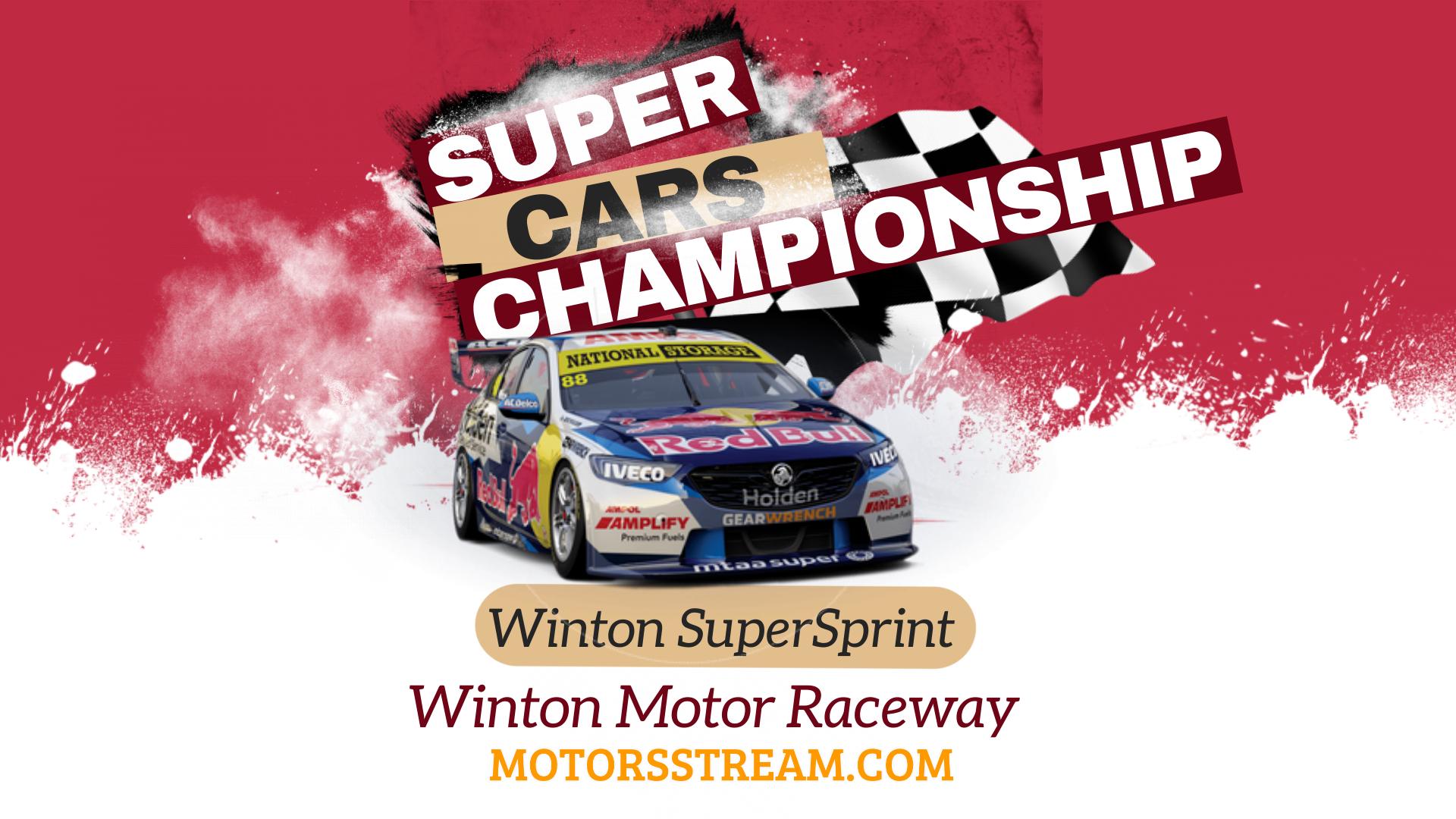 Winton SuperSprint Live Stream 2021 | V8 Supercars