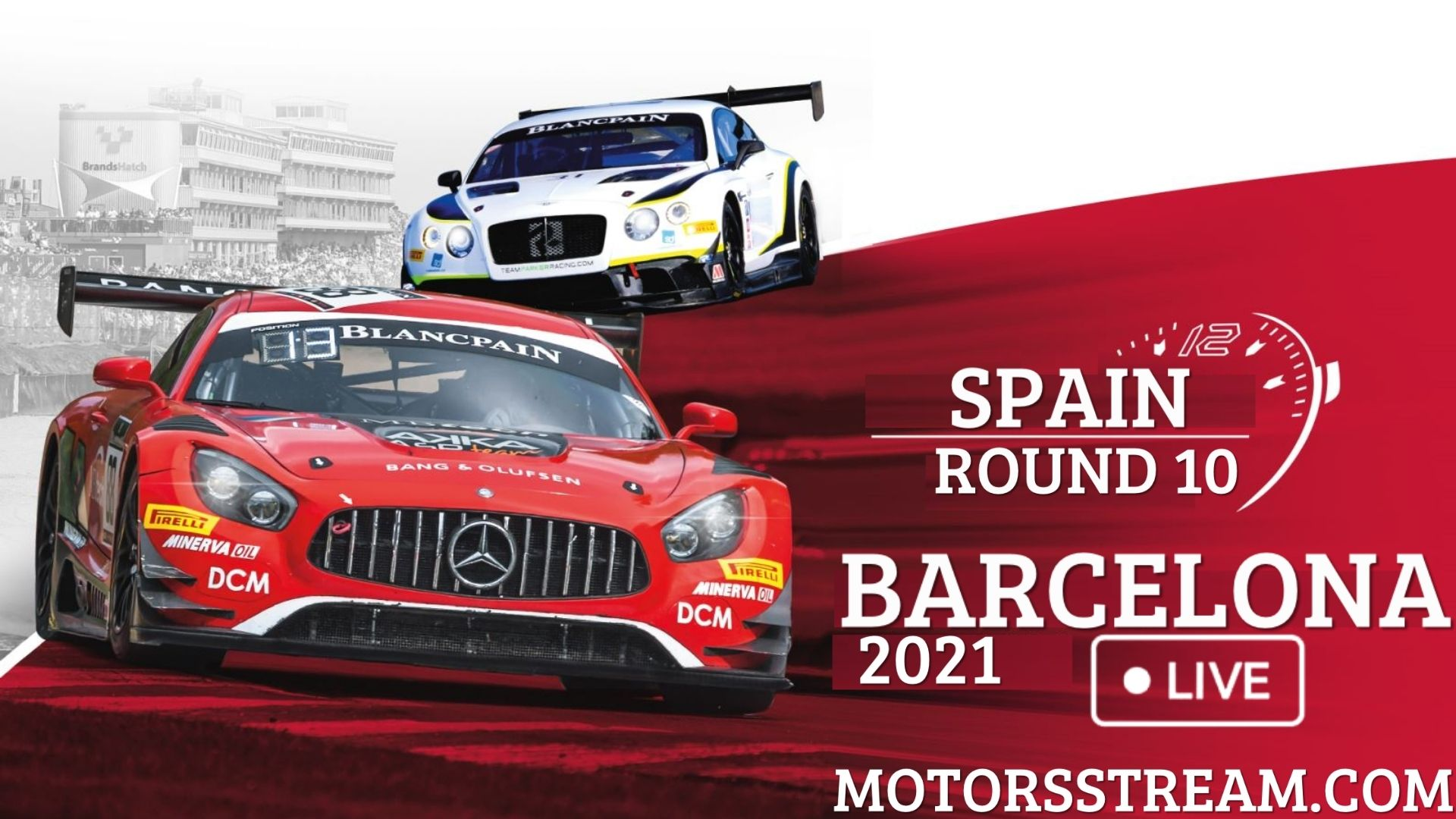 24 Hourse Of Spa Barcelona Live Stream 2021 | Round 10