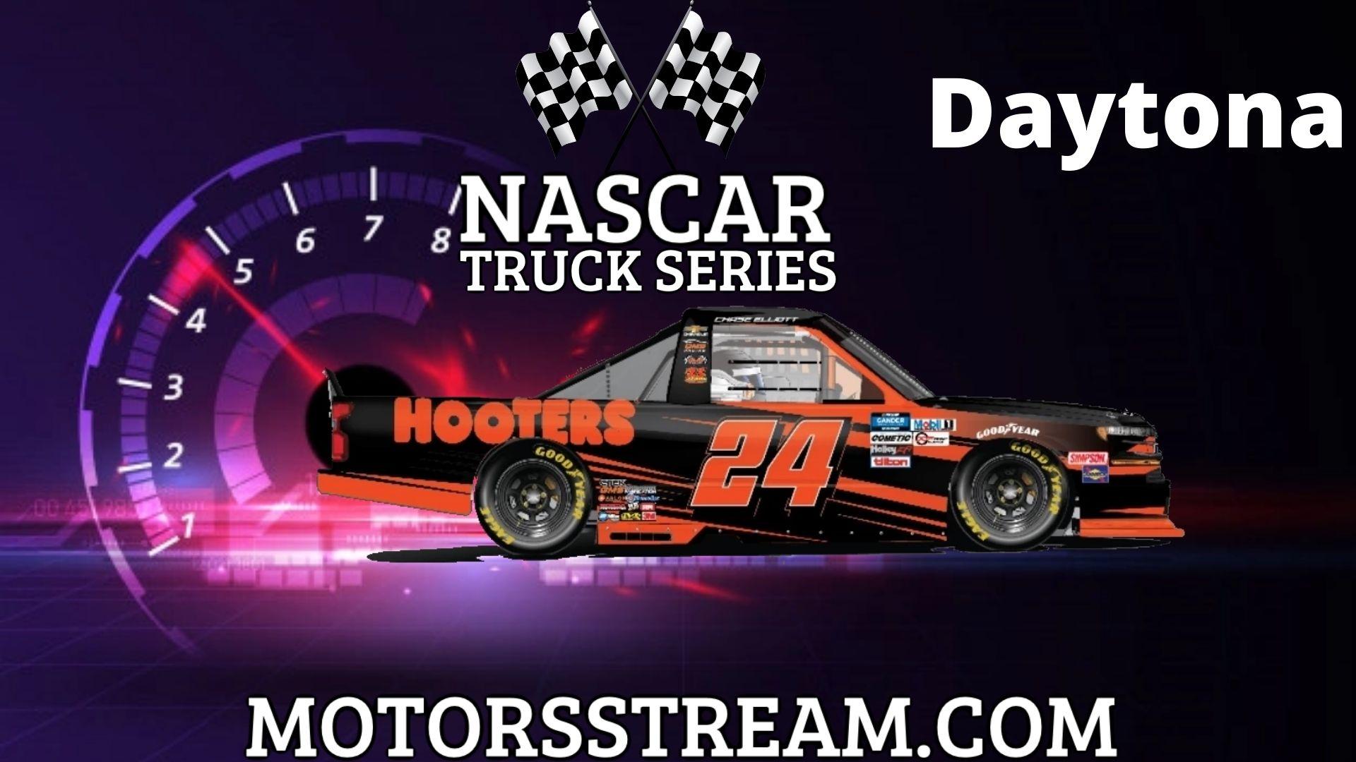 NASCAR Camping World Truck Series Daytona RC Live Stream