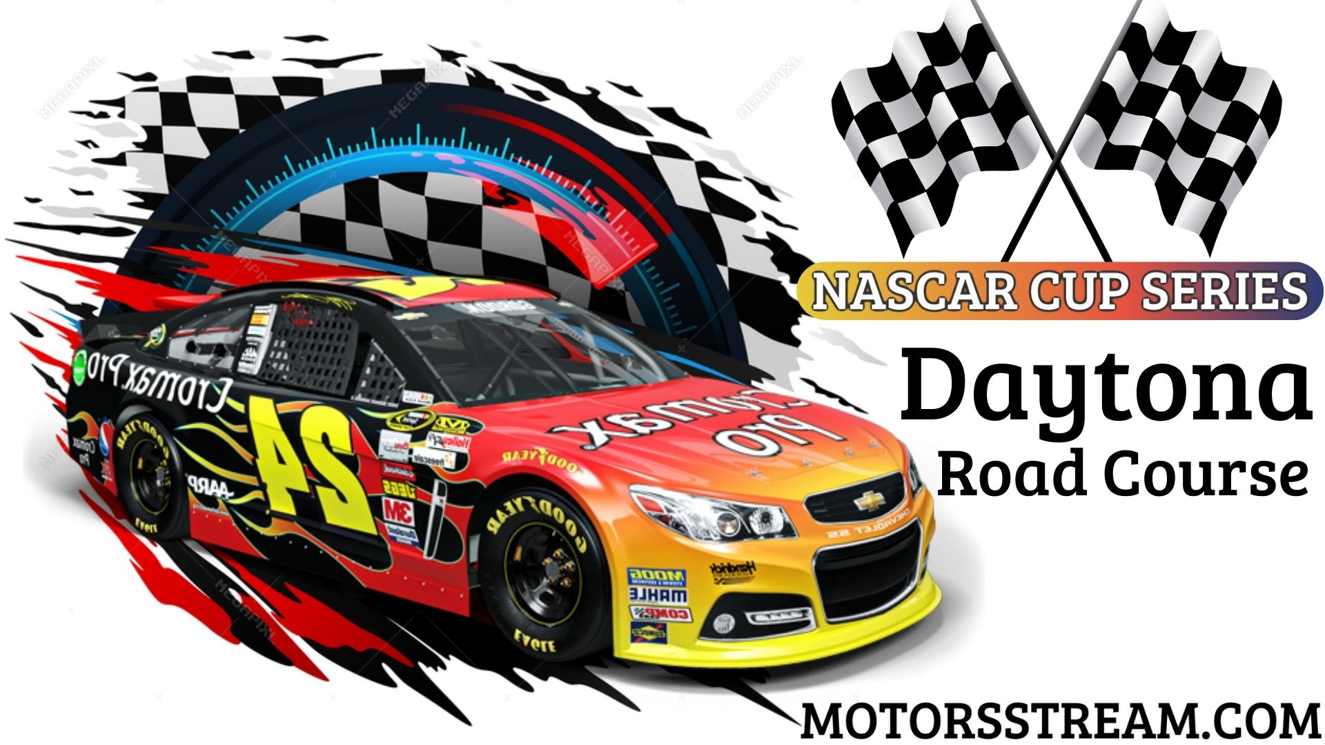 NASCAR Cup Series Daytona RC Live Stream