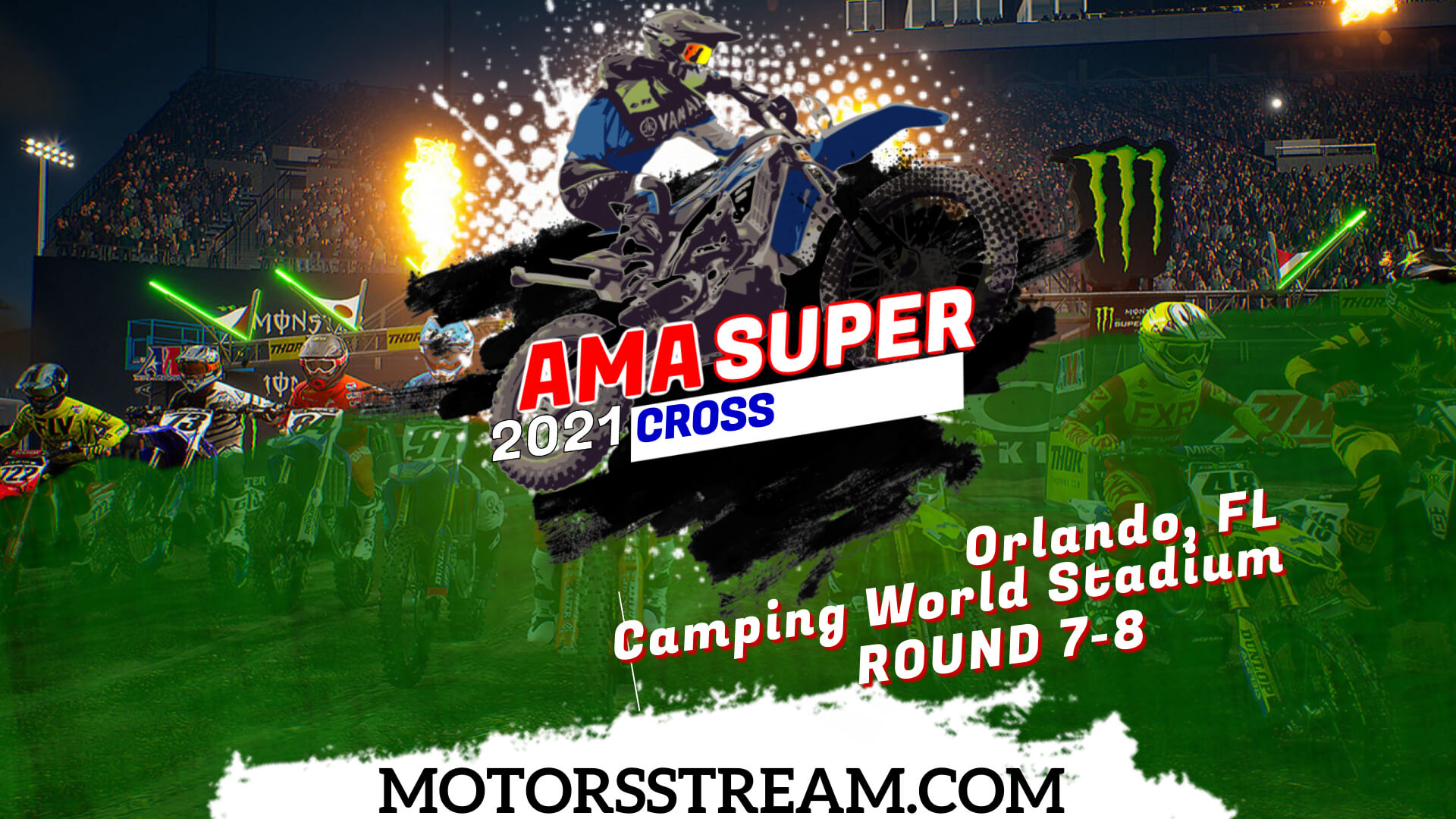 Orlando AMA Supercross Live Stream