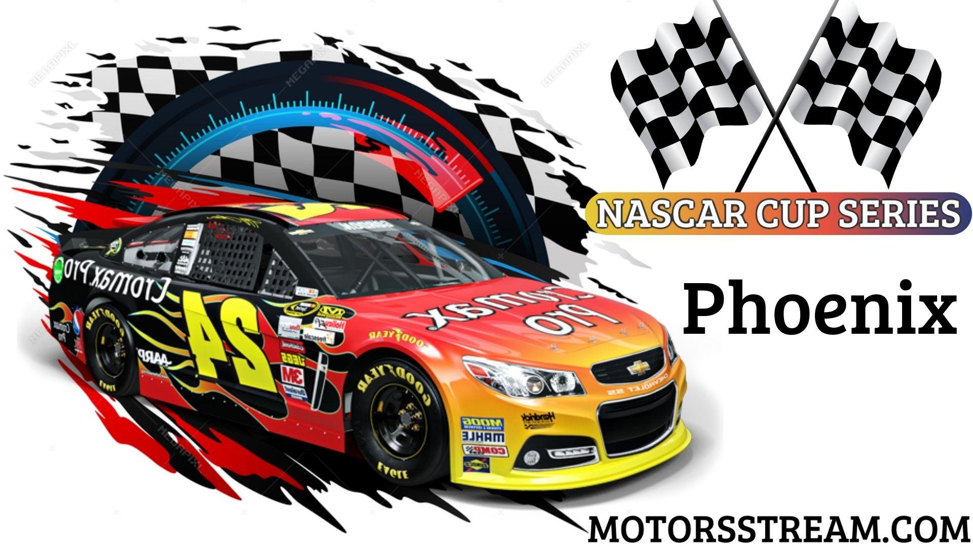 NASCAR Cup series Instacart 500 Phoenix Live Streaming