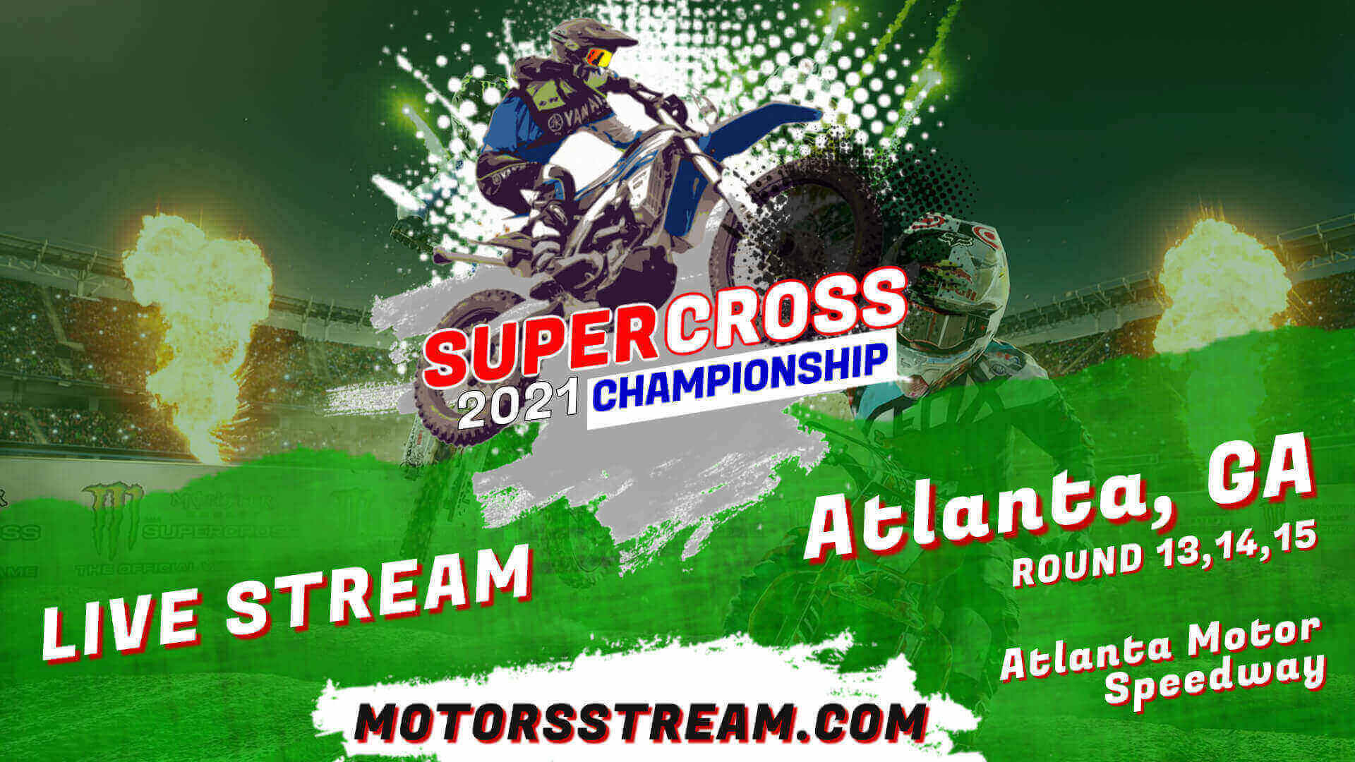 Atlanta Monster Energy Supercross Live Stream